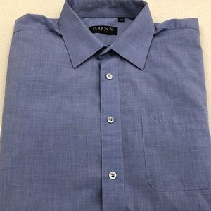 Vintage Hugo Boss Dress Shirt. Size 17 35/36